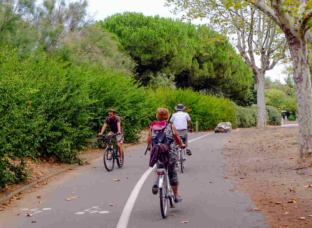 piste cyclable agde