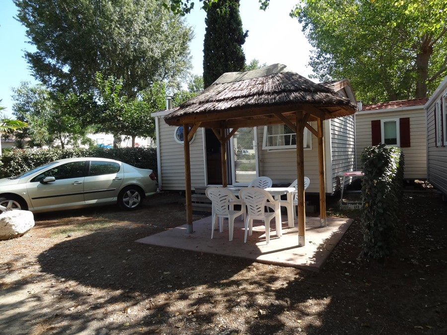 Location mobil-home 4 personnes Vias